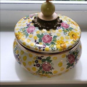 Mackenzie Childs Squash Pot